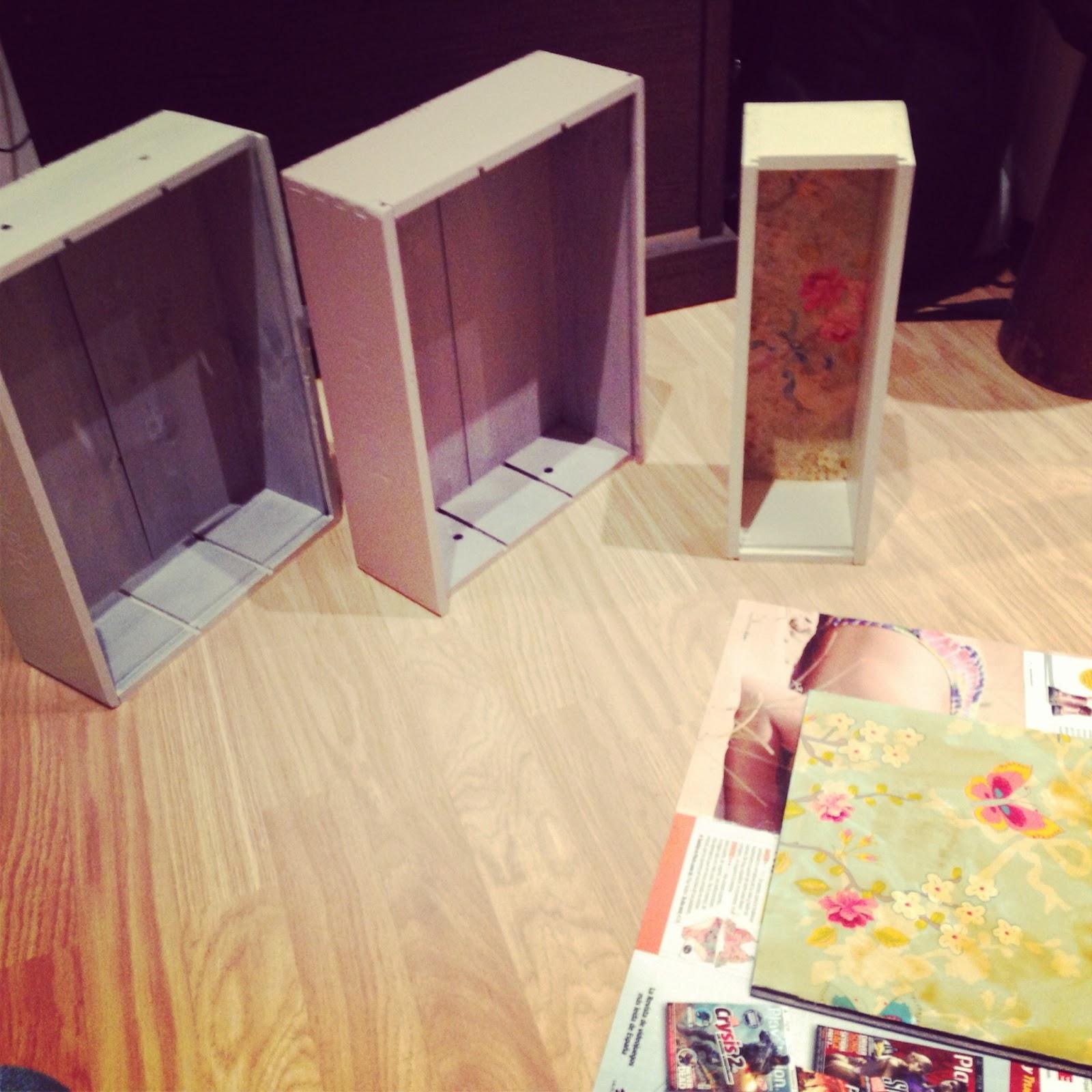 Decora con cajas de madera rojosill n - Cajas de vino para decorar ...