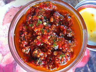 David rocco 39 s hot hot hot chili pesto recipes4everykitchen for Daves italian kitchen
