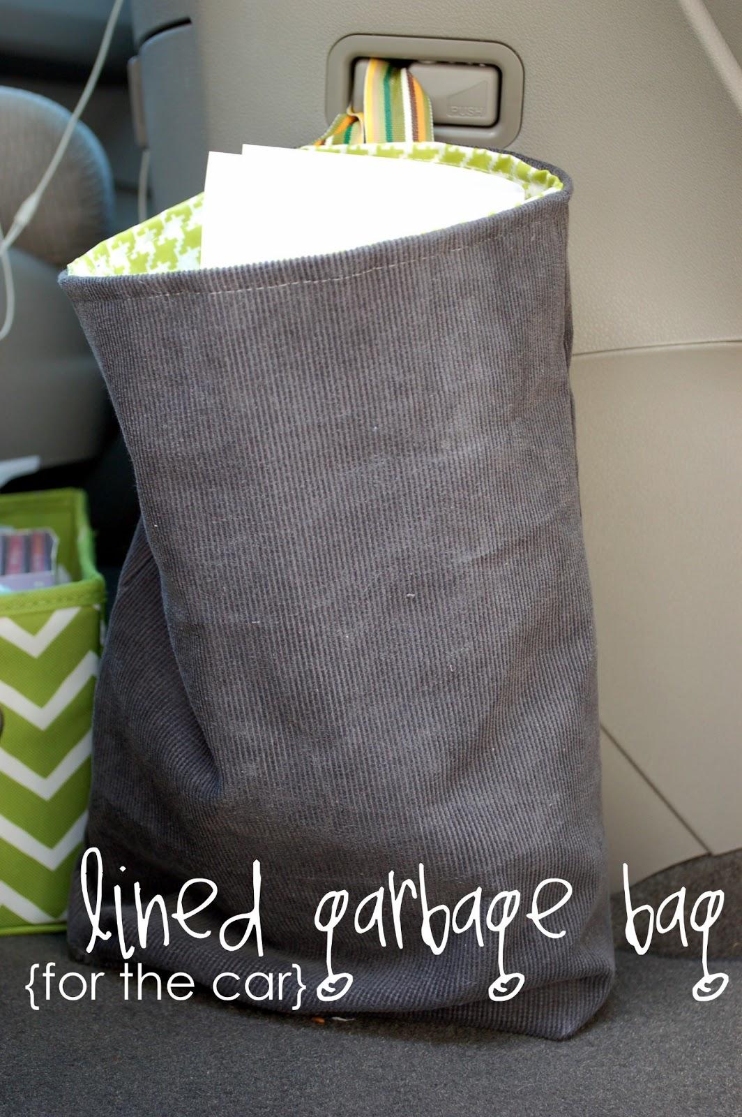 Lined Car Garbage Bag