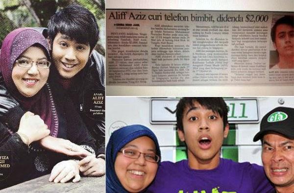 Aliff Aziz Kena Jawab Sendiri Ibu Enggan Komen