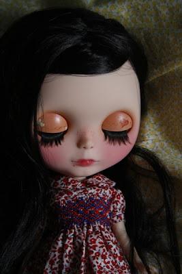 factory blythe doll