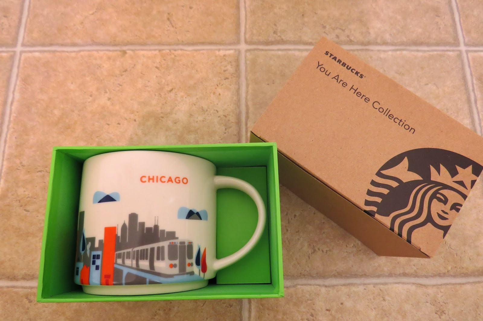 starbucks you are here collection mug chicago it has grown on me. Black Bedroom Furniture Sets. Home Design Ideas