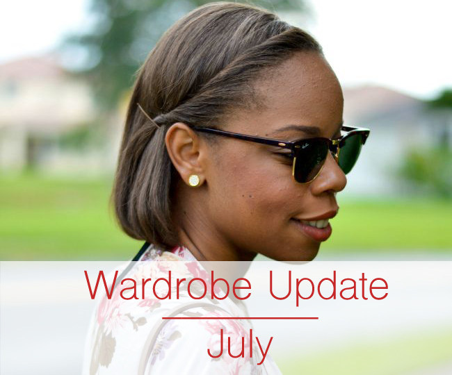 Wardrobe Update   July