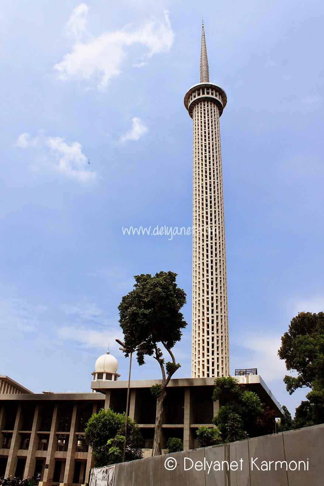 Masjid Istiqlal Tower Jakarta