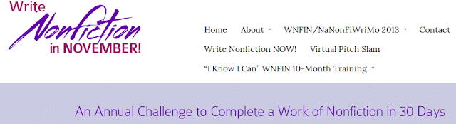 Write Nonfiction in November
