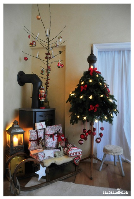 weihnachtsbaum aus tannenzweigen my blog. Black Bedroom Furniture Sets. Home Design Ideas