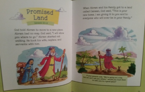 Read and Share 5-Minute Bible Stories example 1
