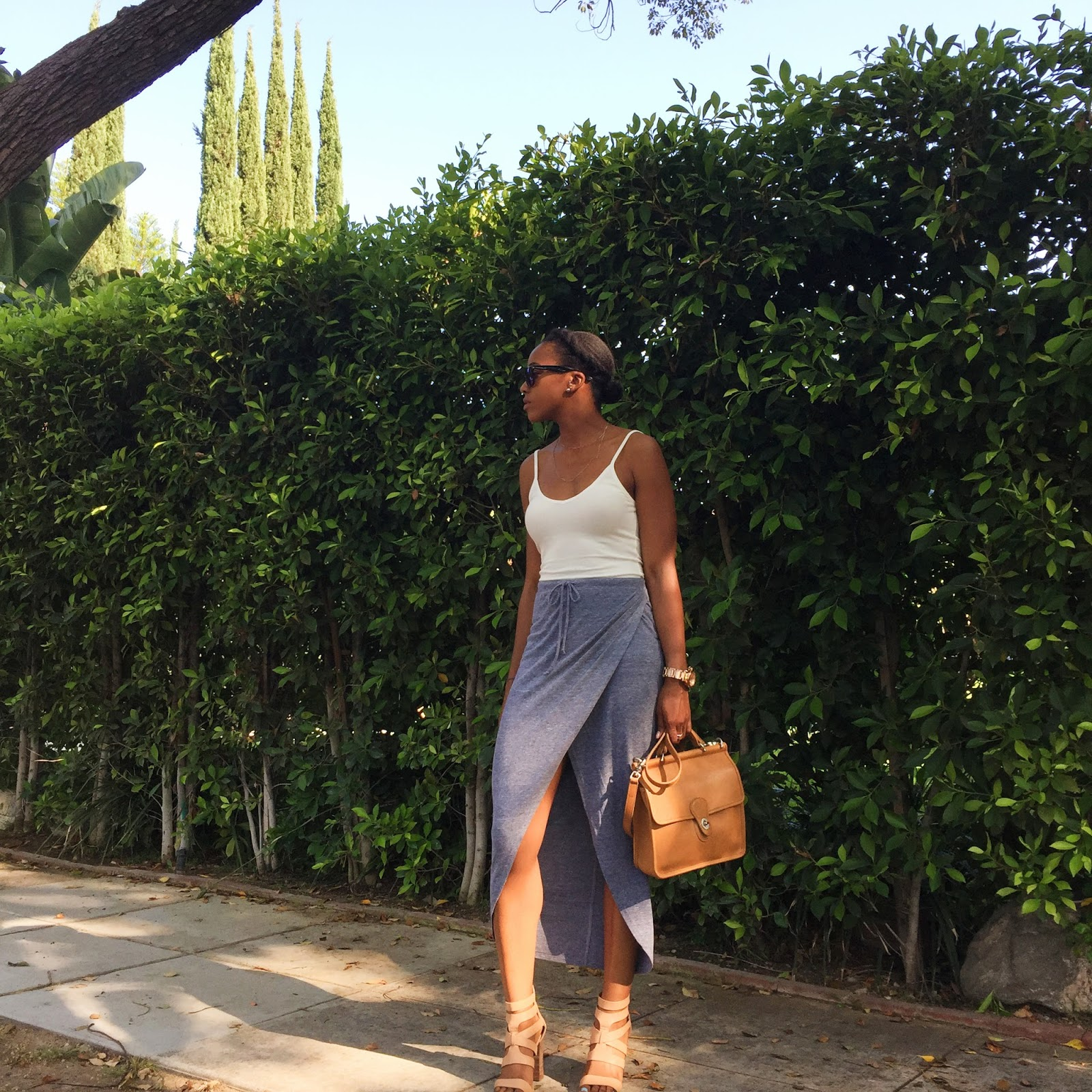 Marquise C Brown fashion, personal style blog, natural hair blogger
