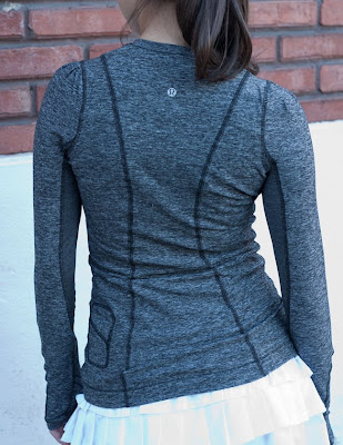 lululemon back on track long sleeve base layer