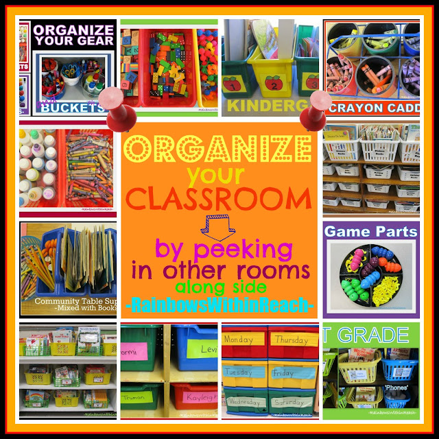 Classroom Ideas Organization : Rainbowswithinreach spot