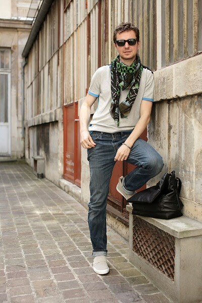 Besace homme cuir, foulard lala berlin, polo homme