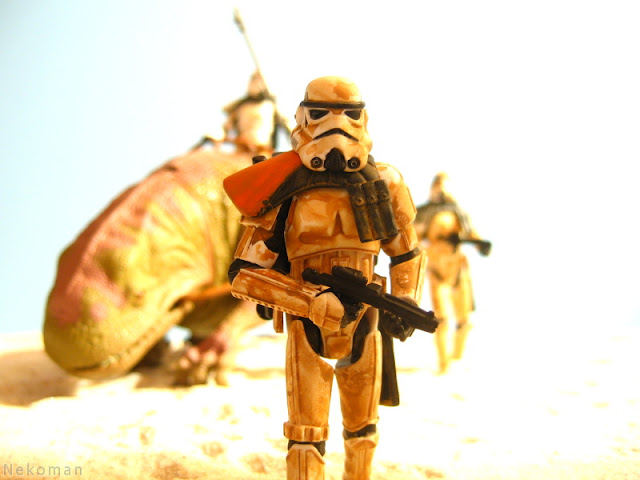 Tatooine Stormtrooper Mos Eisley Empire Luke Skywalker Vintage Collection Action Figure Kenner Hasbro Star Wars Saga Original Trillogy SG OT Dewback POTF2