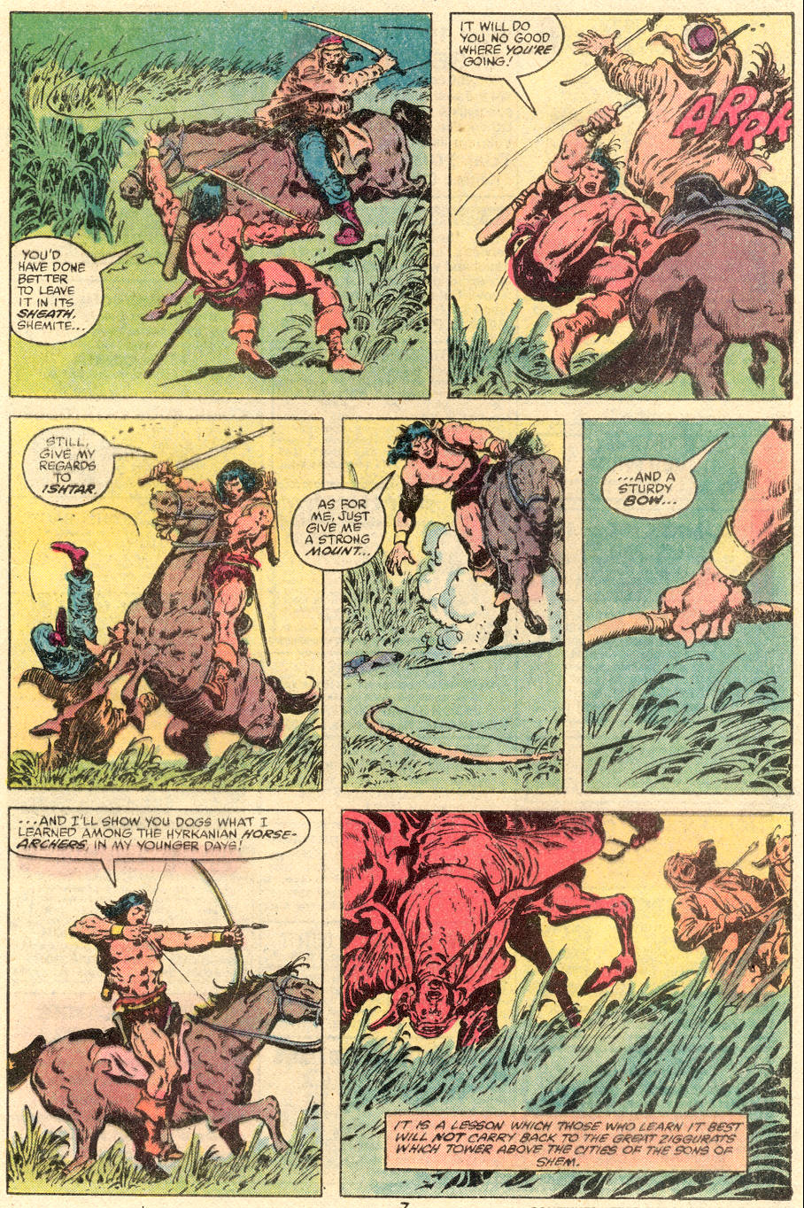 Conan the Barbarian (1970) Issue #109 #121 - English 6
