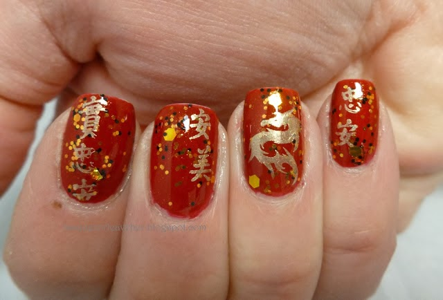 Charmingshoplife Chinese New Year Nail Art Ideas