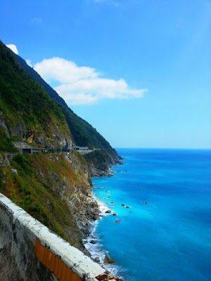 Qingshui Cliff in Taiwan