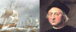Carabelas y Cristóbal Colón