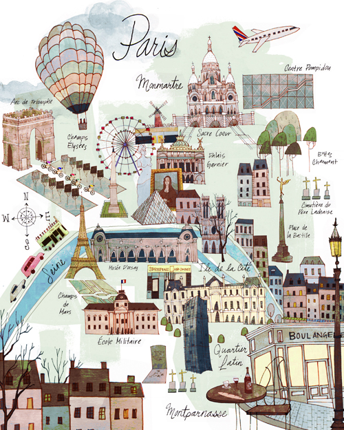 Paris Map To Print