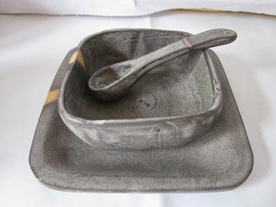 Pocillos cuadrados Ceramica Gres Santiago Chile