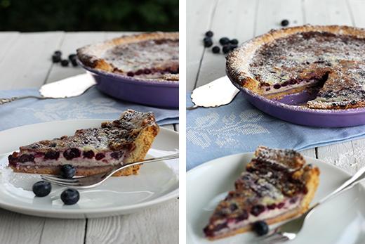Heidelbeertarte Rezept Heidelbeermascarponetarte weiße Schokolade Mürbeteig Sommerkuchen Beeren Holunderweg18 Blog