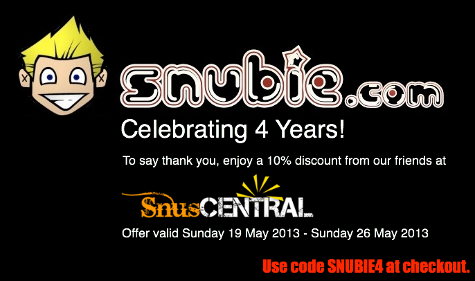 Snuscentral coupon code