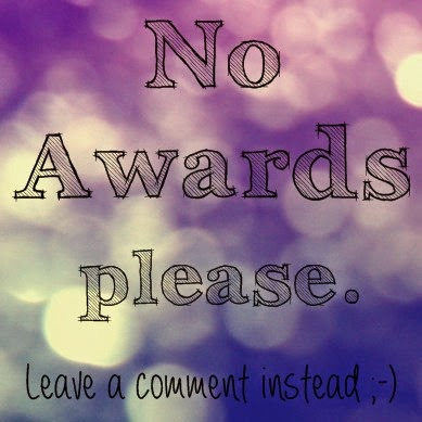 no Awards please!