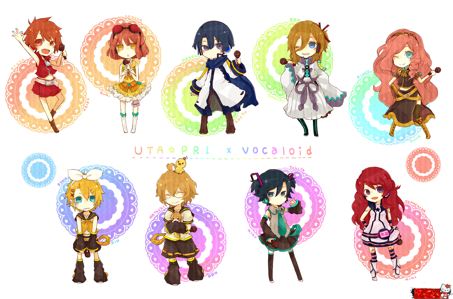 Here some pictures in chibi mode ! Daisuki !