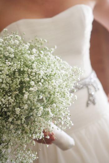 Baby's Breath Bouquet Wedding Flowers