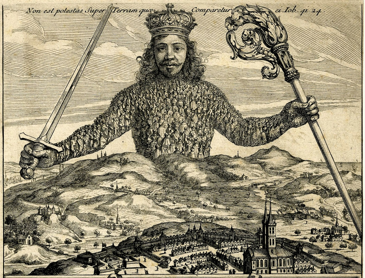 an analysis of thomas hobbes leviathan In the leviathan, thomas hobbes argues that human beings are motivated by  self-preservation he said in the state of nature people will do anything to.
