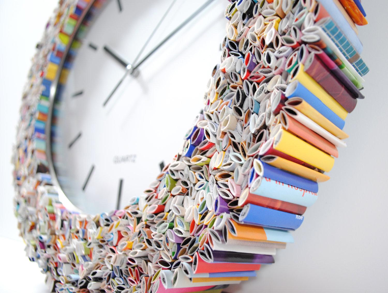 40 ide unik untuk make over rumahmu jam dinding unik via thecheapjerseys Image collections