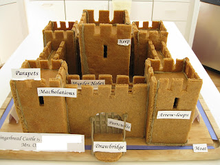Free Gingerbread Castle Template Alipyper