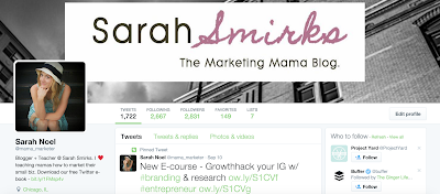 Road to 10,000:  Weekly Blogging Goals & Updates, Week 16 | Sarah Smirks:  The Marketing Mama Blog (www.sarahsmirks.com)
