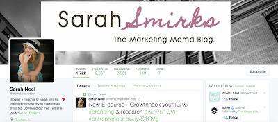 Road to 10,000:  Weekly Blogging Goals & Updates, Week 16 | Sarah Smirks:  The Marketing Mama Blog (www.sarahsmirks.com)