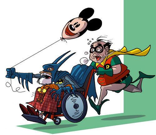 Старые супергерои
