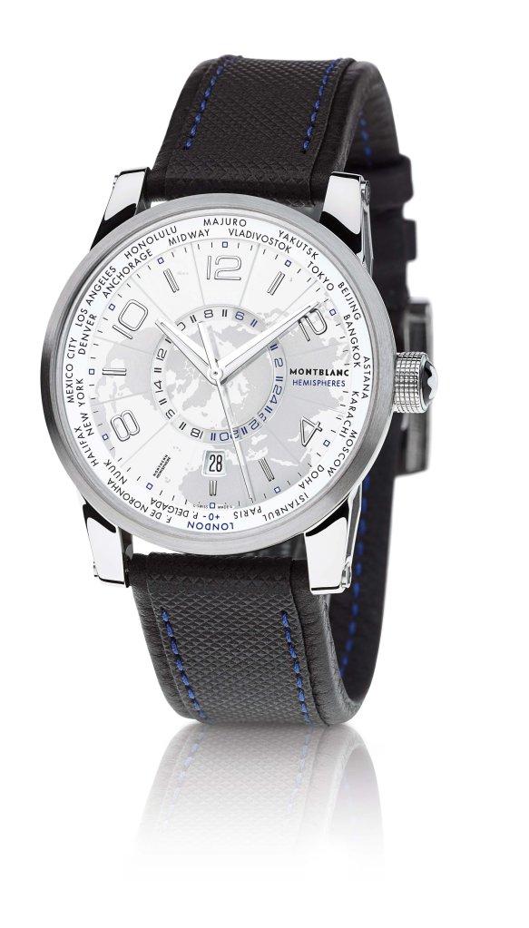 00O00 Menswear Blog: Director Michel Hazanavicius's Montblanc TimeWalker Northern Hemisphere timepiece - Cannes Film Festival 2013
