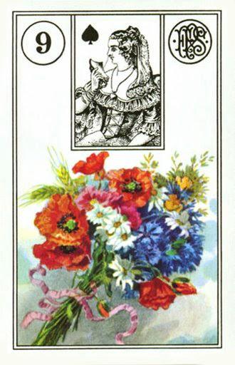 Сравнительная характеистика ОРАКУЛОВ ЛЕНОРМАН 9
