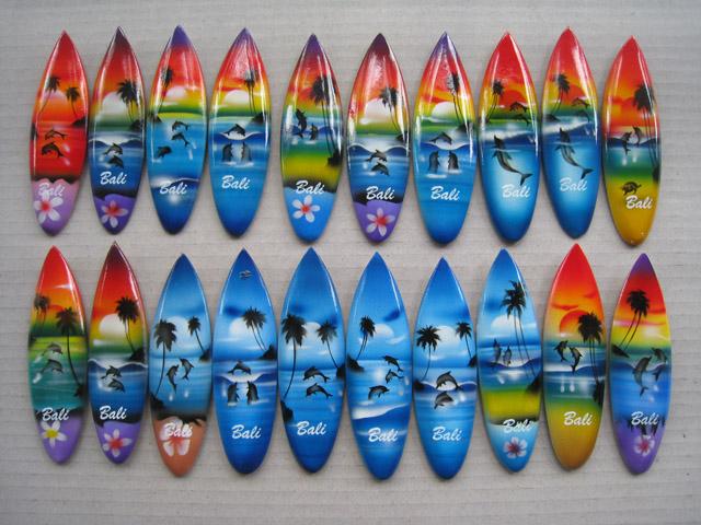 Magnet Kulkas Surfing 10cm