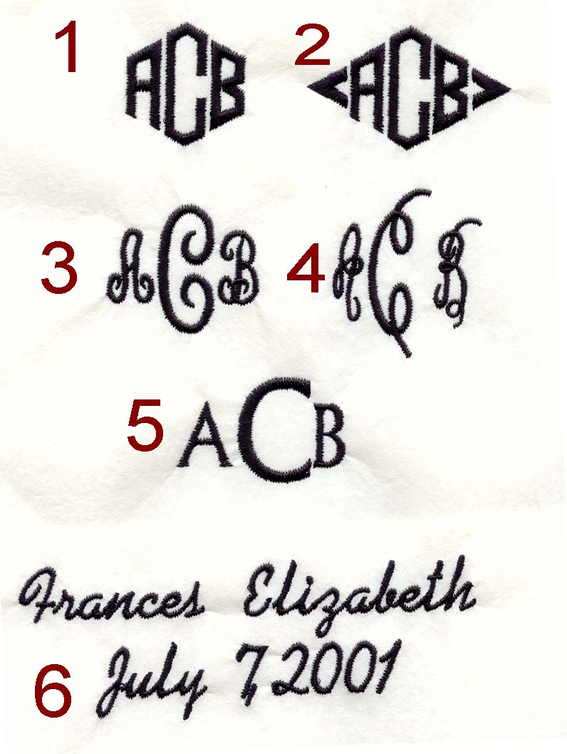 Monogram Styles Fonts - kootation.
