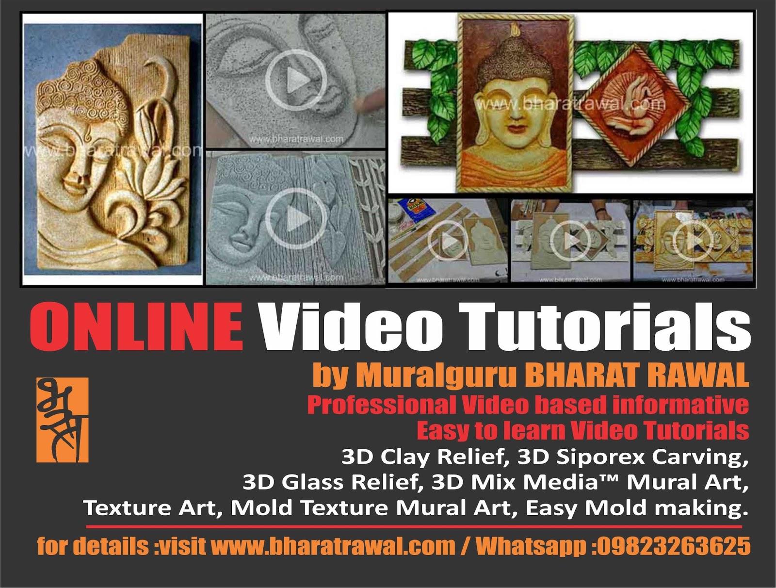 Mural art by muralguru bharat rawal august 2015 for 3d mural tutorial