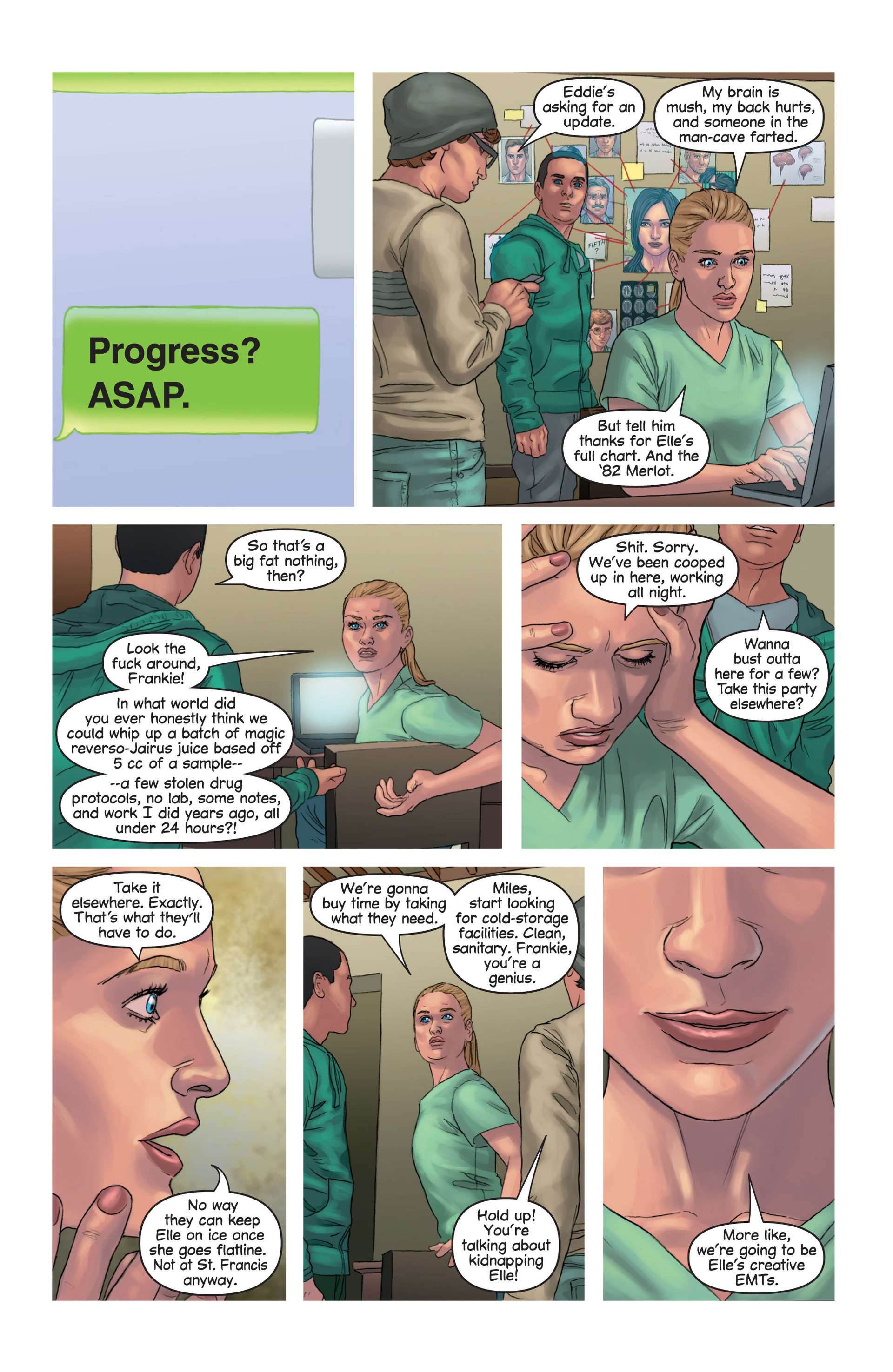 Read online Mind The Gap comic -  Issue #14 - 17