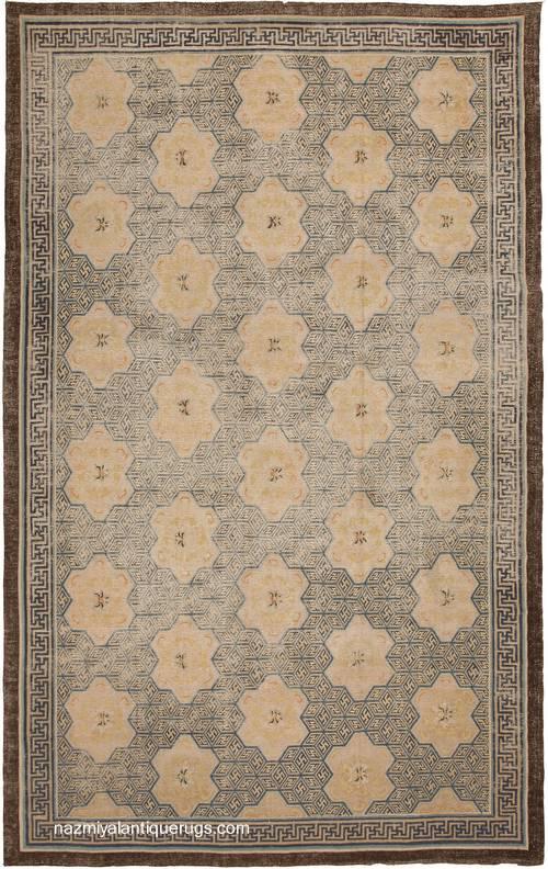 arquitectura de casas sobre las alfombras orientales