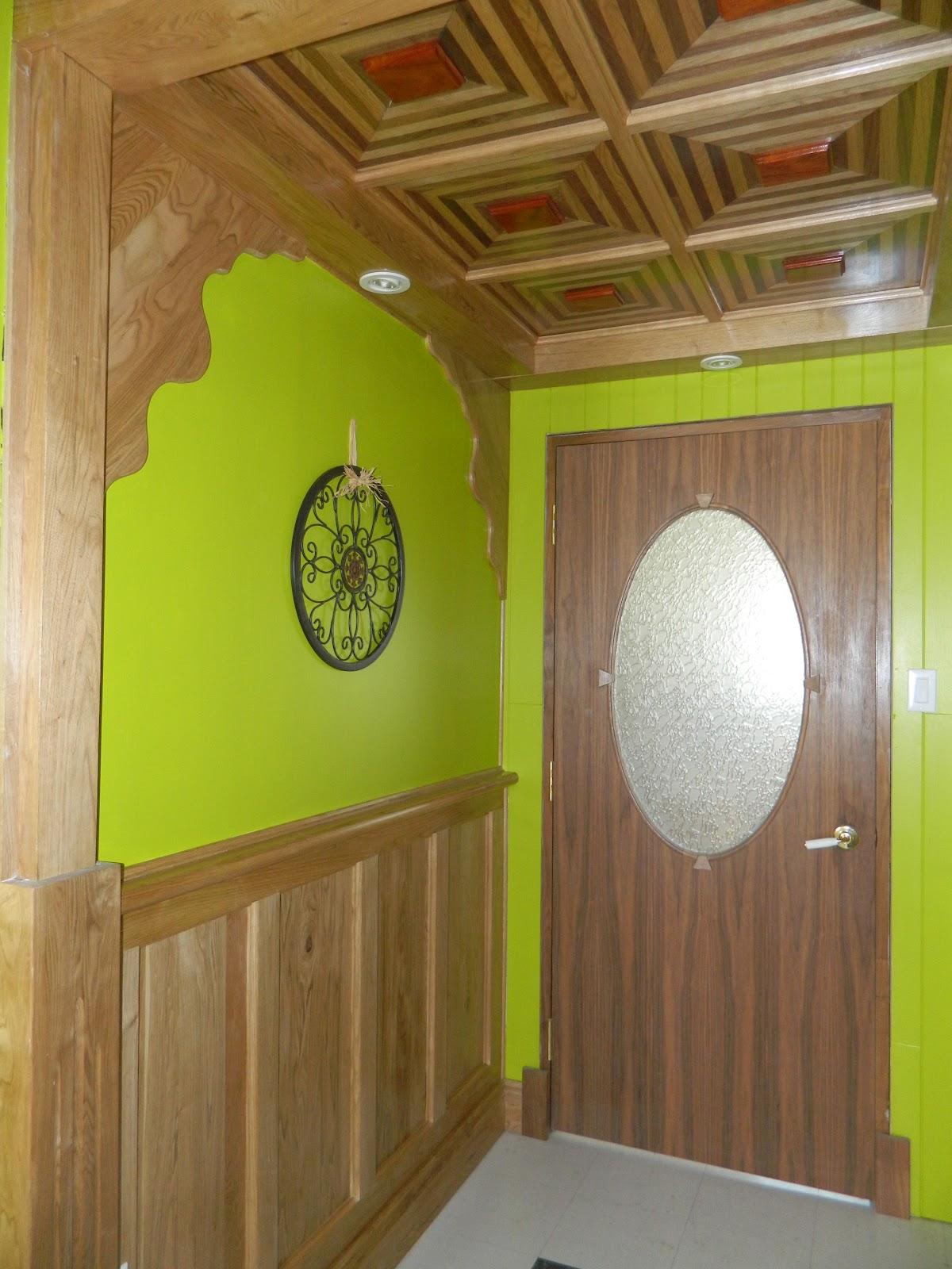 menuiserie st m thode caisson mural en bois. Black Bedroom Furniture Sets. Home Design Ideas
