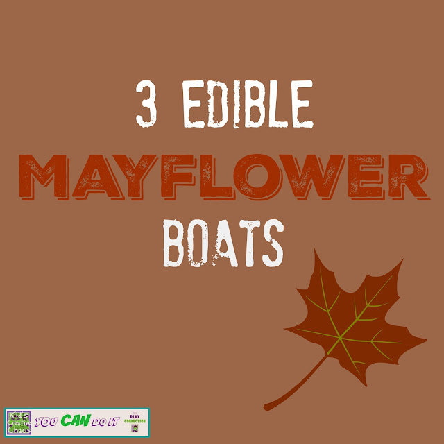 Easy Edible Mayflower Boat Craft for Kids