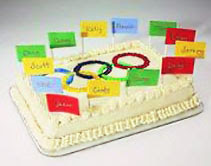 Olympic Champion Cake
