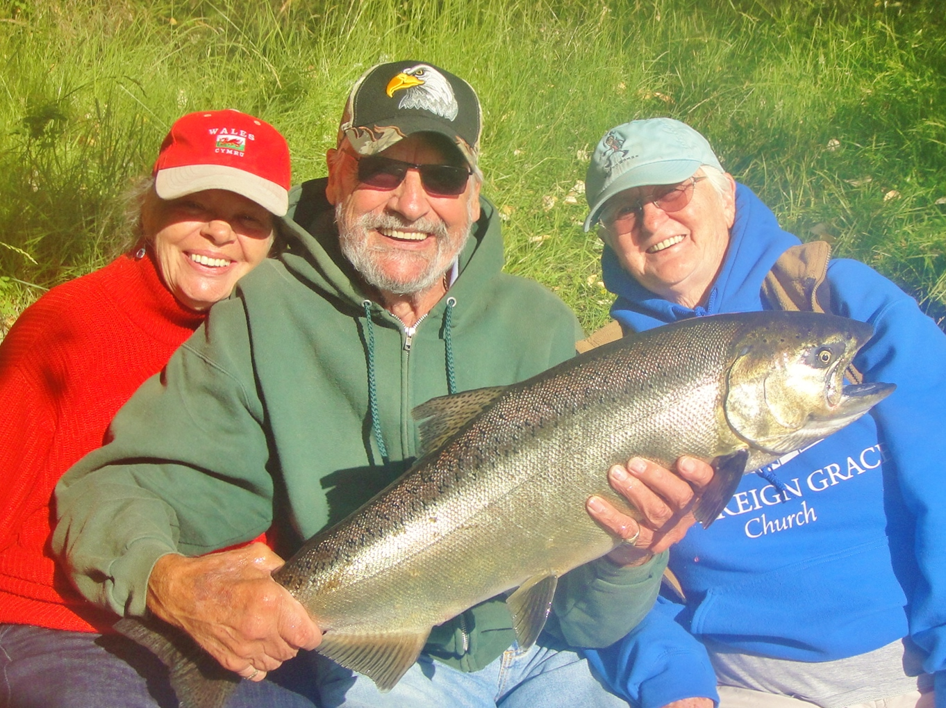 Rogue river Chinook king salmon
