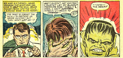 Transformação Hulk