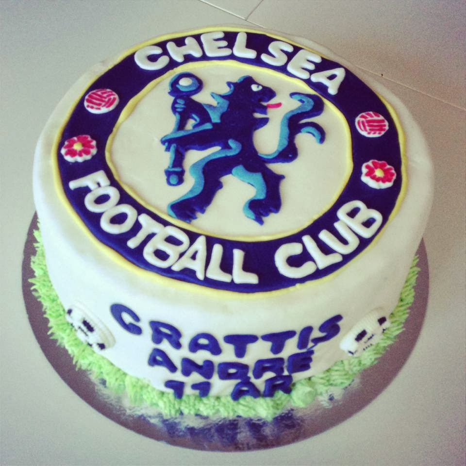 Chelsea tårta