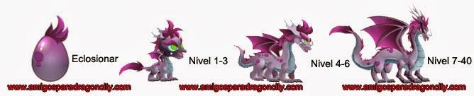 imagen del crecimiento del dragon zen