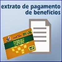 Extrato de Pagamento benefício do INSS, Aumento do INSS 2015