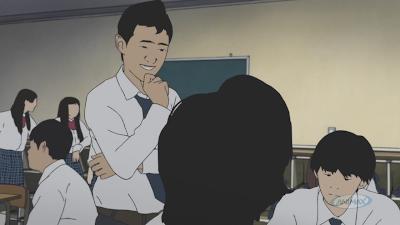Zdjęcia z anime Aku no Hana (The Flowers of Evil).