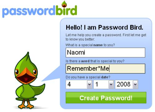 Create a Tough Password, very tough password, how to create a tough password